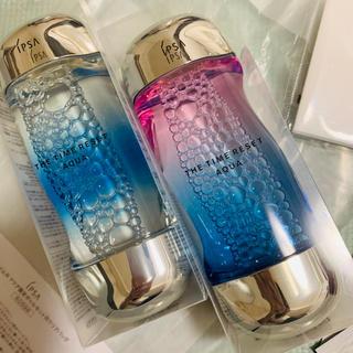 IPSA - 【限定】IPSA イプサ 化粧水 ザ・タイムR  アクア 2本セット おまけ付き