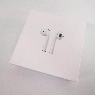 Apple - Appleエアーポッズ第2世代AirPods2 アップルワイヤレスイヤホン最短当