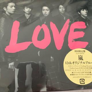 アラシ(嵐)の嵐 LOVE 初回限定盤(ポップス/ロック(邦楽))