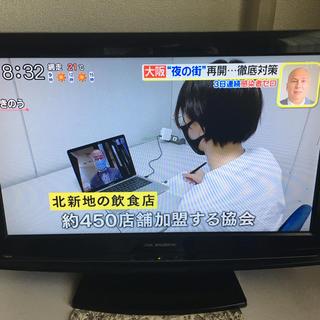 テレビ 22型 美品