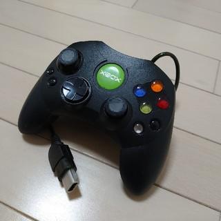 エックスボックス(Xbox)のxbox用コントローラー・ブラック(家庭用ゲーム機本体)