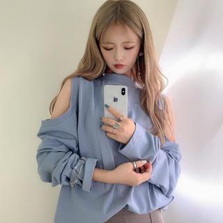 ワンアフターアナザーナイスクラップ(one after another NICE CLAUP)のRiLi Tokyo  肩あきロンT(Tシャツ(長袖/七分))