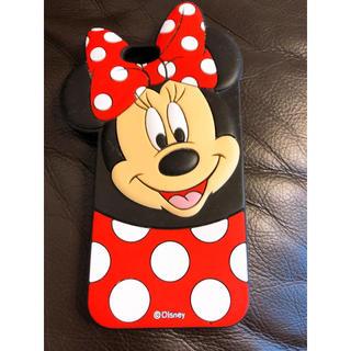 ディズニー(Disney)のiPhoneカバー ミニーちゃん(iPhoneケース)