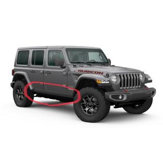 ジープ(Jeep)の2020 ジープラングラー  JL  ルビコン  純正ロックレール(車種別パーツ)