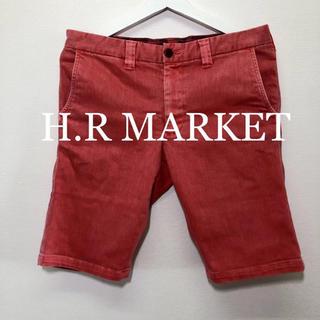 ハリウッドランチマーケット(HOLLYWOOD RANCH MARKET)のH.R MARKET ストレッチショートパンツ!日本製! (ショートパンツ)