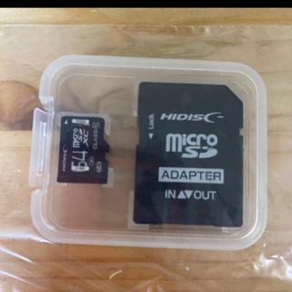 新品未使用 microSDXCカード 64GB