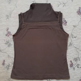 ヒロコビス(HIROKO BIS)のHIROKO BIS チュールの襟付きキャミソール(シャツ/ブラウス(半袖/袖なし))