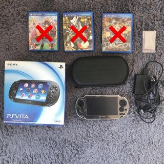 プレイステーション(PlayStation)のPSVita 1000 本体 セット(家庭用ゲーム機本体)