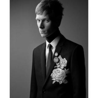 ディオールオム(DIOR HOMME)のDIOR HOMME 18ss 薔薇刺繍ジャケット (テーラードジャケット)