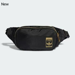 adidas - 新品 adidas orignals ボディバッグ ウエストポーチ 黒×金