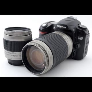 ニコン(Nikon)の☆超極上☆ニコン Nikon D80 Wレンズセット#618620(デジタル一眼)