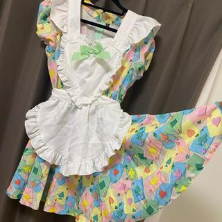 メイド服(2点セット)(コスプレ)