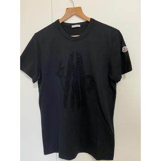 モンクレール(MONCLER)のモンクレール MONCLER Tシャツ 黒(Tシャツ/カットソー(半袖/袖なし))