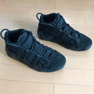 NIKE - AIR MORE UPTEMPO TRIPLE BLACK