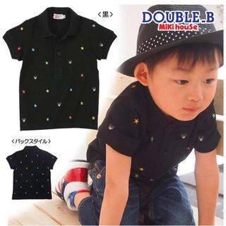 DOUBLE.B - ダブルB ポロシャツ110センチ