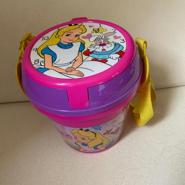 ふしぎの国のアリス(フシギノクニノアリス)のアリスポップコーン バケット エンタメ/ホビーのおもちゃ/ぬいぐるみ(キャラクターグッズ)の商品写真