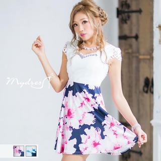 dazzy store - キャバ ミニ ドレス フレア ワンピース  Aライン