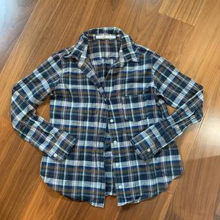 スピックアンドスパン(Spick and Span)の日本製☆チェックシャツ ネルシャツ(シャツ/ブラウス(長袖/七分))