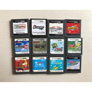 ニンテンドーDS(ニンテンドーDS)のDSカセット 12種類(携帯用ゲームソフト)