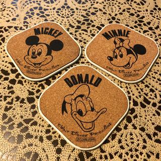 ディズニー(Disney)のディズニーコースター3枚セット (テーブル用品)