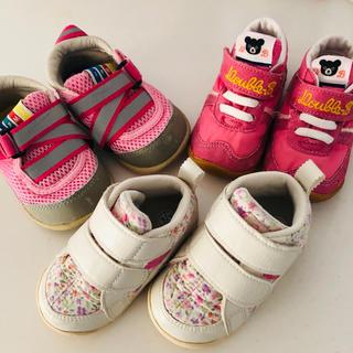 asics - 子供靴/スニーカー 12cm/12.5cm 3足セット