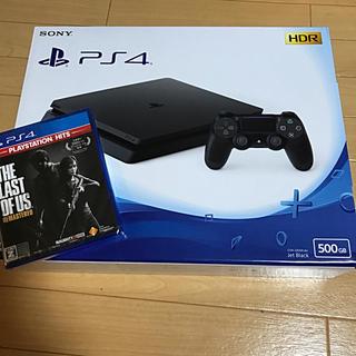 プレイステーション4(PlayStation4)のプレイステーション4 500GB本体+ソフト1本(家庭用ゲーム機本体)