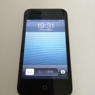 アイポッドタッチ(iPod touch)のApple iPod touch 第4世代 8GB 本体 ジャンク 難アリ(ポータブルプレーヤー)