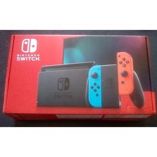ニンテンドースイッチ(Nintendo Switch)の新品未開封 Nintendo Switch ネオンブルー(家庭用ゲーム機本体)