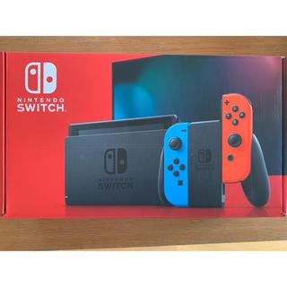 ニンテンドースイッチ(Nintendo Switch)のSwitch 任天堂スイッチ 本体 ネオンブルー ニンテンドウ(家庭用ゲーム機本体)