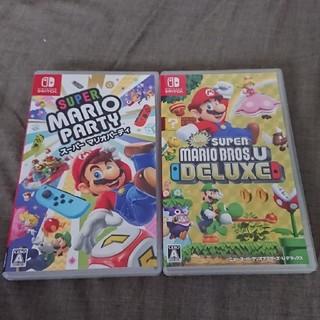 ニンテンドースイッチ(Nintendo Switch)のスーパーマリオブラザーズU デラックス スーパーマリオパーティー Switch(家庭用ゲームソフト)