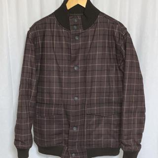 ウールリッチ(WOOLRICH)の美品 ウールリッチ 中綿チェックウールジャケット (ブルゾン)
