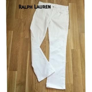 ラルフローレン(Ralph Lauren)の【Made in USA】未使用  ラルフローレン //ホワイトジーンズ(デニム/ジーンズ)