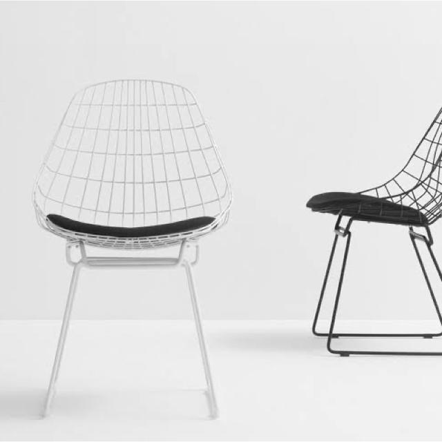 EAMES(イームズ)のPASTOE パスト ワイヤーチェア 正規品 インテリア/住まい/日用品の椅子/チェア(ダイニングチェア)の商品写真