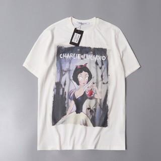ディズニー(Disney)の2枚 Charlie Luciano disney 白雪姫 Tee(Tシャツ(半袖/袖なし))