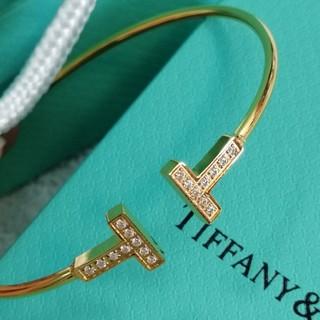 Tiffany & Co. - 素敵❤️ Tiffany 人気 ブレスレット レディース イエローゴールド