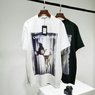 ディズニー(Disney)の2枚 Charlie Luciano disney バンビ Tee(Tシャツ(半袖/袖なし))