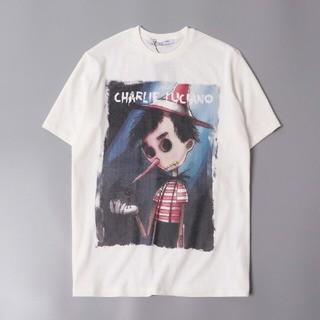 ディズニー(Disney)の2枚 Charlie Luciano disney ピノキオ Tee(Tシャツ/カットソー(半袖/袖なし))