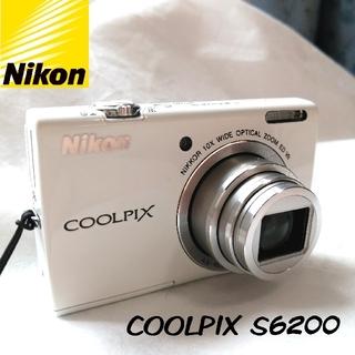 Nikon - 【1度使用したのみ】Nikon COOLPIX S6200  ケース付