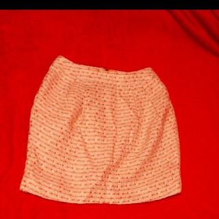 ダズリン(dazzlin)のダズリン スカートオレンジ色Sサイズ(ミニスカート)