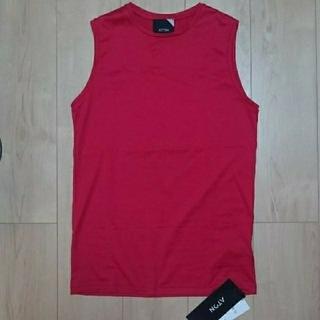 ユナイテッドアローズ(UNITED ARROWS)のATON ノースリーブカットソー(Tシャツ(半袖/袖なし))