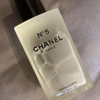 シャネル(CHANEL)のCHANEL N5 限定ボディオイル(ボディオイル)