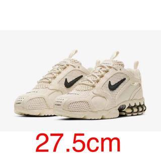 ナイキ(NIKE)の Nike x Stussy エアー ズーム スピリドン ケージ 2 Fossi(スニーカー)