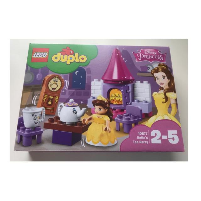Lego(レゴ)の新品未開封】DUPLO 美女と野獣 ベル ティーパーティ ディズニー プリンセス エンタメ/ホビーのおもちゃ/ぬいぐるみ(キャラクターグッズ)の商品写真
