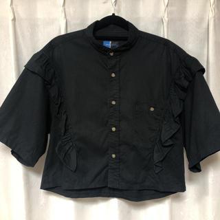 SPINNS - 古着 リメイクシャツ