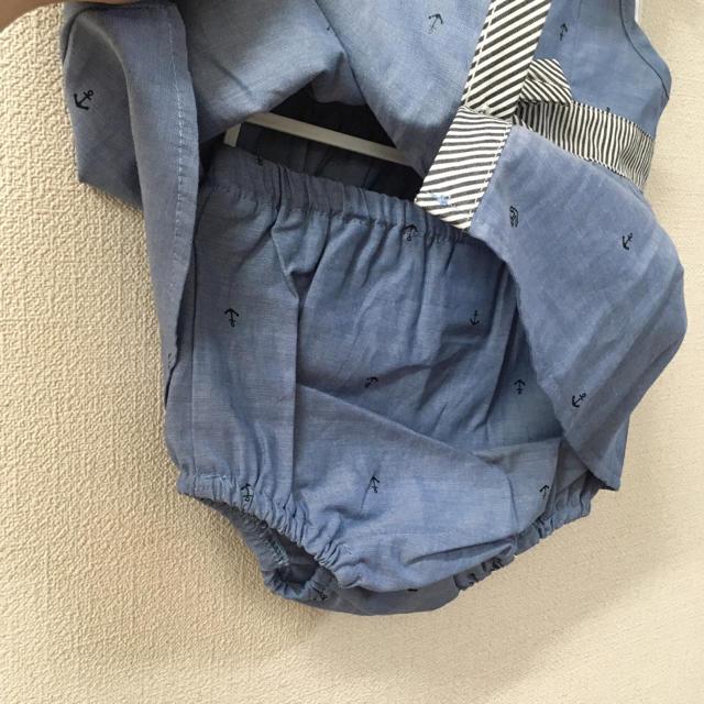【新品タグ付き】女の子 セットアップ 70 キッズ/ベビー/マタニティのベビー服(~85cm)(その他)の商品写真