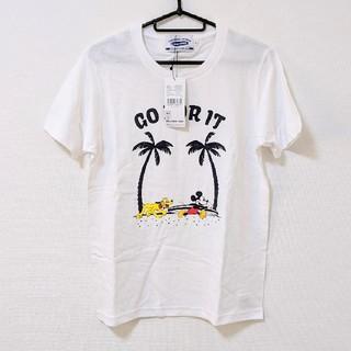 ディズニー(Disney)のサーフミッキー Tシャツ(Tシャツ(半袖/袖なし))