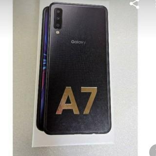 ギャラクシー(Galaxy)のGALAXY A7 SIM FREE 新品未使用(スマートフォン本体)