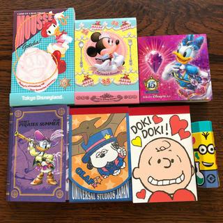 ディズニー(Disney)のキャラクターメモ帳と消しゴム(ノート/メモ帳/ふせん)
