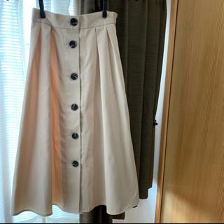 GU - 【送料無料】GU  前ボタンスカート