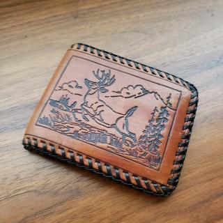 ヴィンテージレザー折り財布『BAYCREW'Sにて購入』